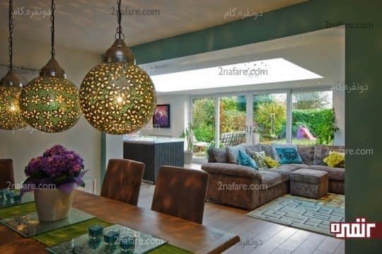 جذابیت بیشتر فضاهای داخلی با نورپردازی مناسب