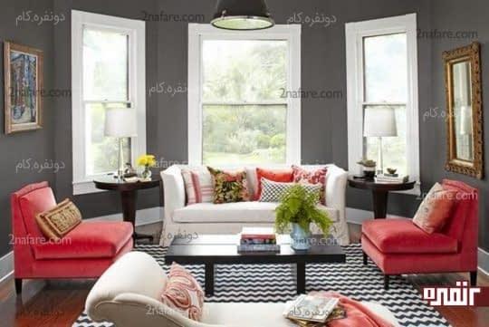 حفظ تعادل بین رنگ ها در فضاهای داخلی
