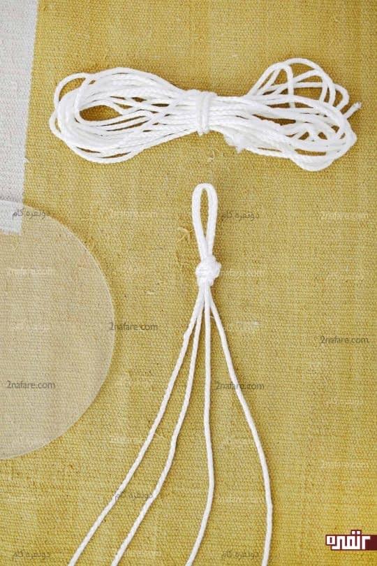 دولاکردن طناب و ایجاد گره