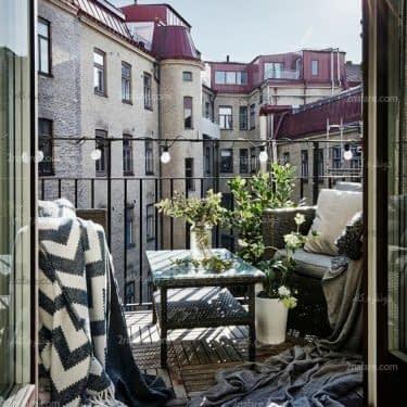 دکوراسیون بالکن کوچک در آپارتمانها