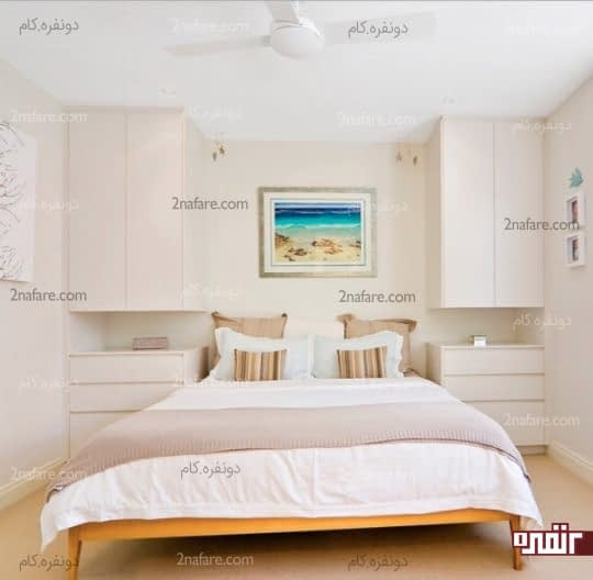 دکوراسیون داخلی اتاق خواب های کوچک