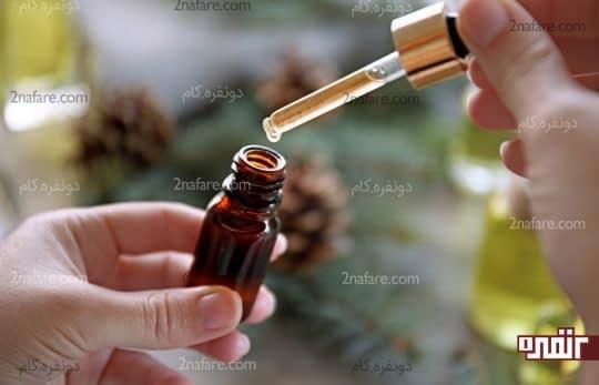 روغن درخت چای برای از بین بردن خال