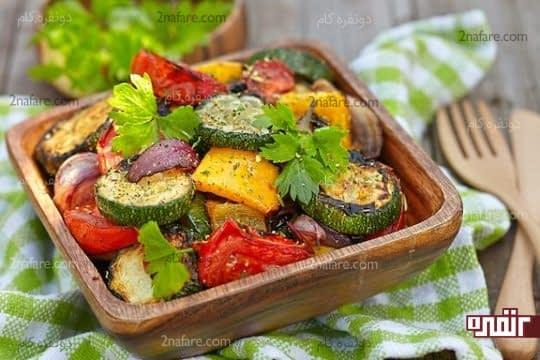 سبزیجات باید جایگاه ویژه ای در سبد غذایی ما داشته باشن