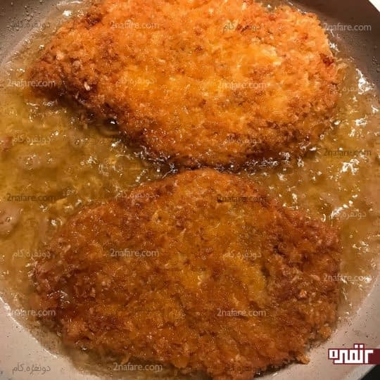 سرخ شدن مرغ
