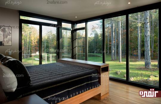 طراحی اتاق خواب مینیمال