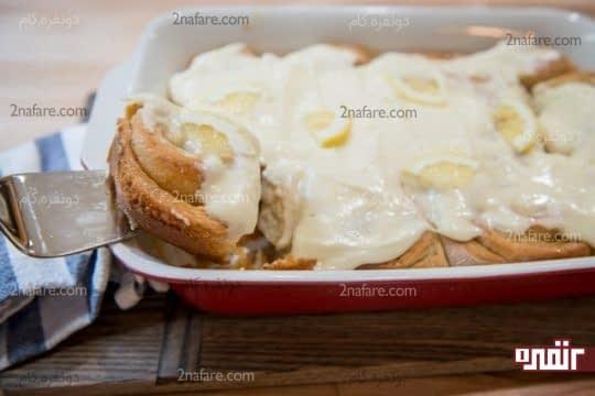 طرز تهیه رول لیمویی با فراستینگ مخصوص