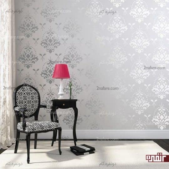 فواید استفاده از کاغذ دیواری های متالیک