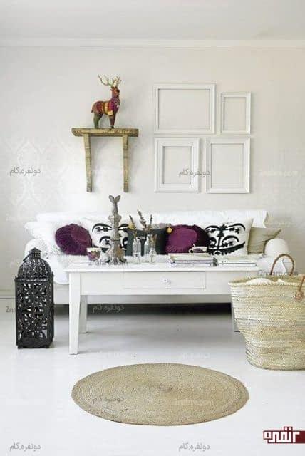 قابهای سفید و ساده