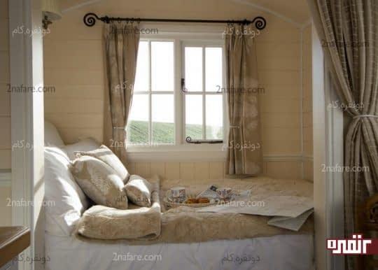 قراردادن تخت در فضاهای پرت خانه