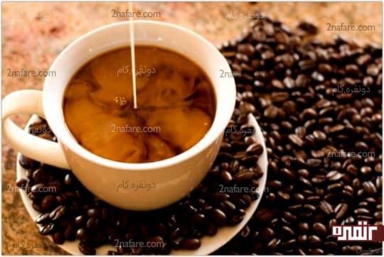 قهوه حاوی انواع ویتامین و مواد معدنی می باشد
