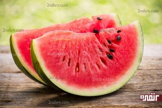 هندوانه محبوب ترین میوه کودکان در تابستانه