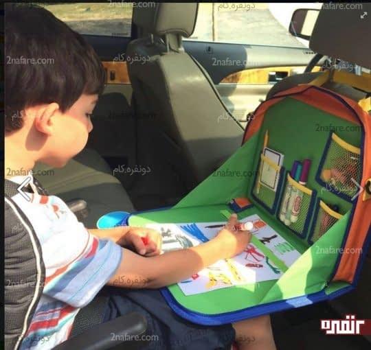 وسایلی رو برای سرگرمی فرزندتون در حین سفر به همراه داشته باشید