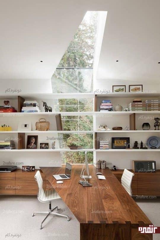 پنجره و میز نامتقارن