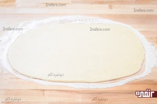 پهن کردن خمیر
