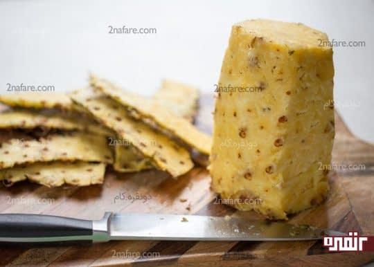 پوست گرفتن آناناس