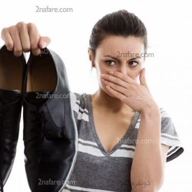 چطور بوی بد کفش رو از بین ببریم؟