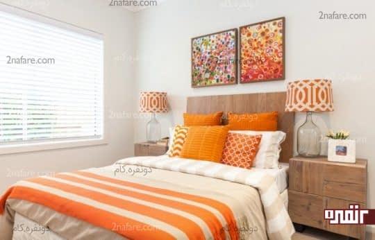 کاربرد رنگ نارنجی در دکوراسیون منزل