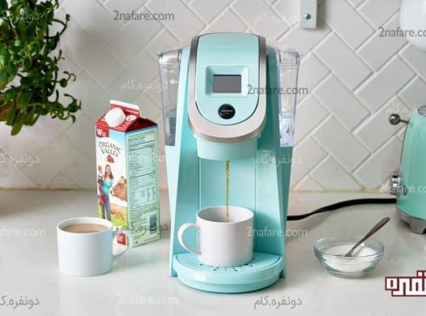 تمیز کردن ساده و سریع قهوه ساز