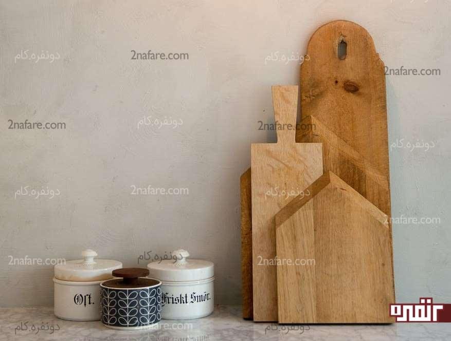 روغن کاری و تمیز کردن تخته برش چوبی