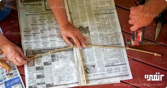 بادبادک روزنامه ای