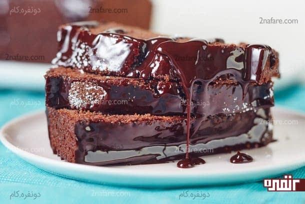 پاند کیک کاکائویی