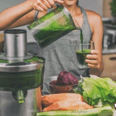 آب سبزیجات مفید برای کاهش وزن