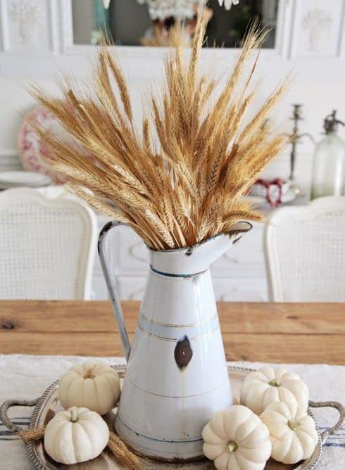 استفاده از خوشه های گندم