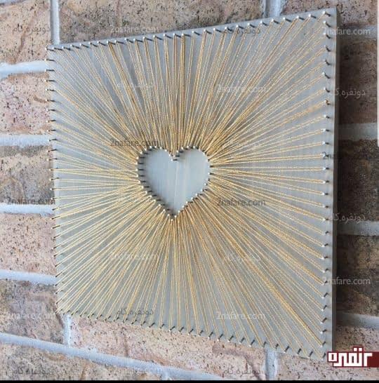 تابلو قلبی شکل