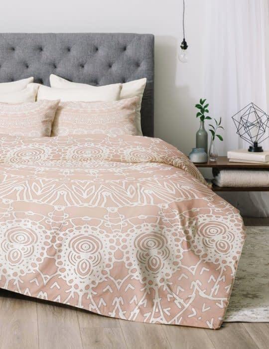 روتختی نرم و خوش رنگ برای اتاق خواب های رمانتیک