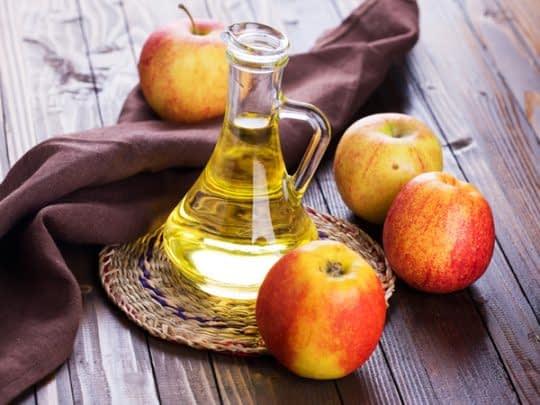 استفاده از سرکه سیب برای تازه کردن نفس