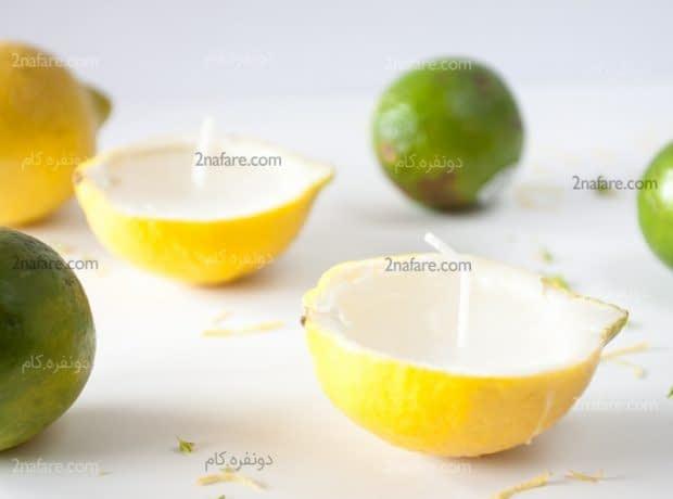 شمع لیمویی