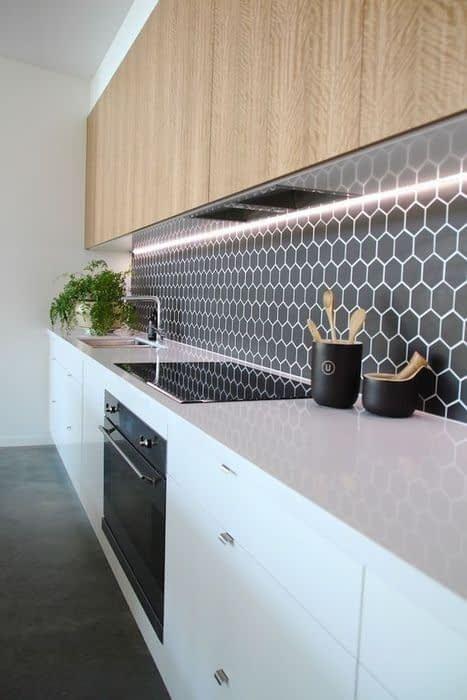 مدلهای متنوع دیوار پوش در آشپزخانه