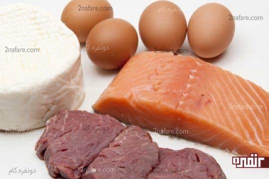 مصرف پروتئین را افزایش دهید