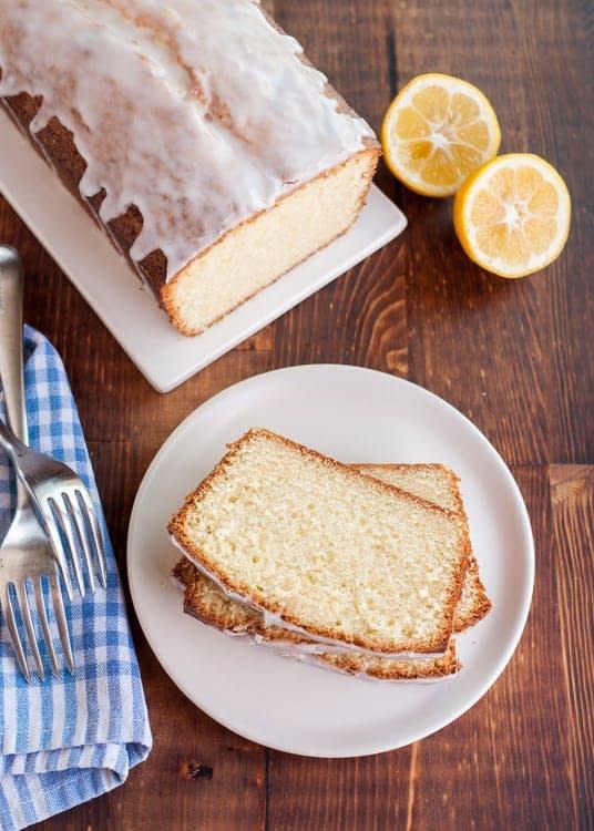 پاند کیک لیمویی