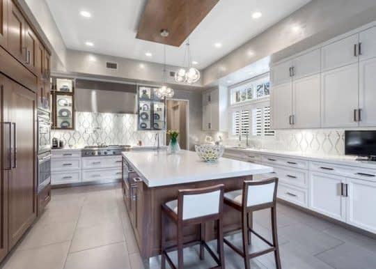 پوشش جذاب برای دیوار آشپزخانه