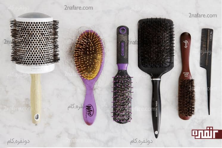 چطور برس موهامون رو تمیز کنیم