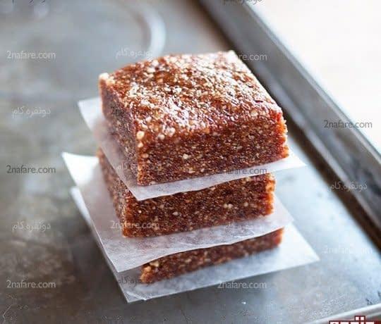 طرز تهیه اسلایس خرما بدون نیاز به پختن