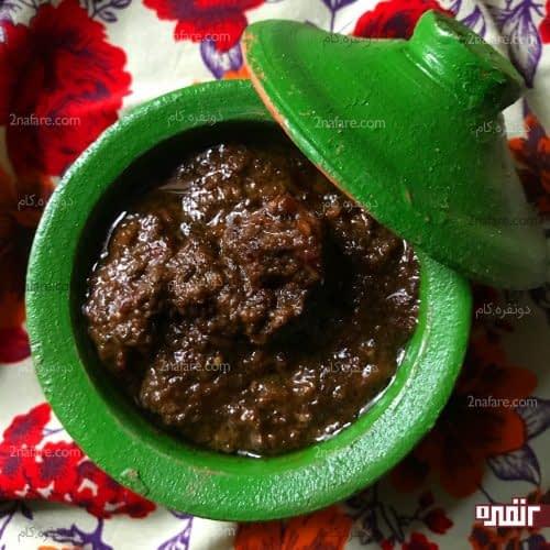 traditional gamaj kabab stew