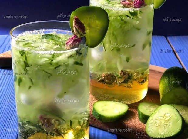 نوشیدنی خیار و سکنجبین