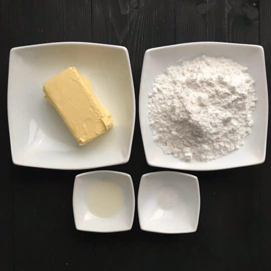 مواد لازم برای تهیه باترکریم وانیلی
