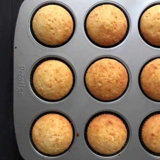 پختن کاپ کیک