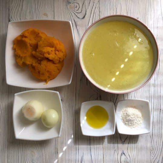 مواد لازم برای تهیه سوپ کدو حلوایی