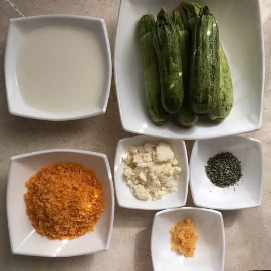مواد لازم برای تهیه کدو سوخاری در فر