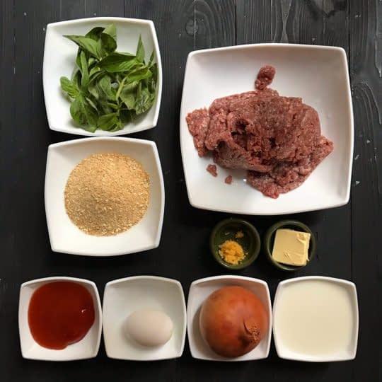 مواد لازم برای تهیه گوشت قالبی