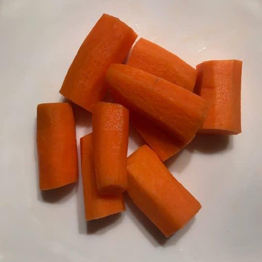 خرد کردن هویج