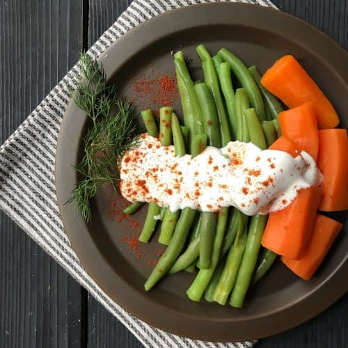 سبزیجات بلانچ شده