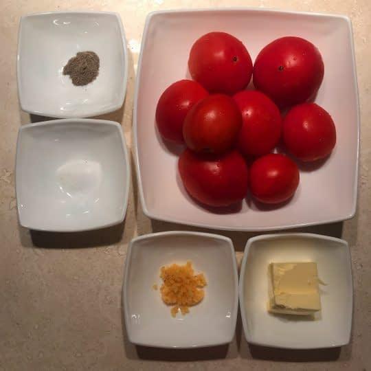 مواد لازم برای تهیه سس گوجه مخصوص پاستا و لازانیا