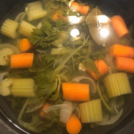 پختن سبزیجات