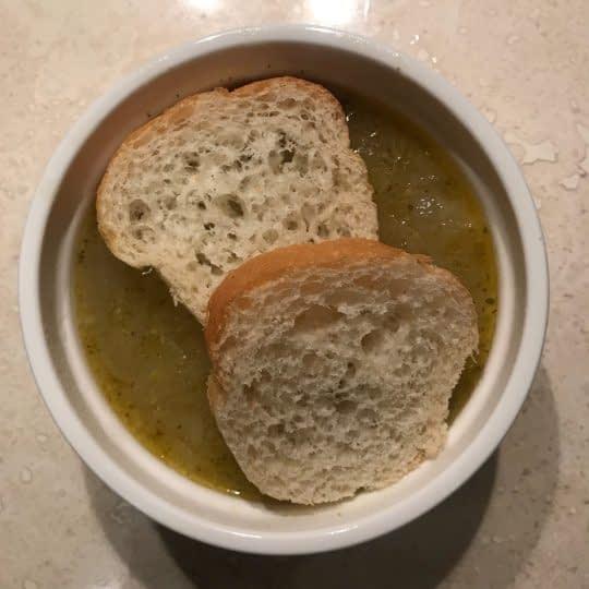 اضافه کردن نان فرانسوی