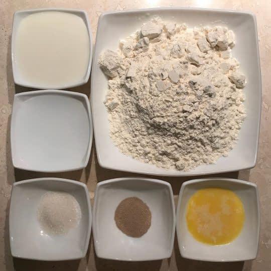 مواد لازم برای تهیه مافین انگلیسی